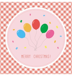 Merry christmas greeting card4 vector