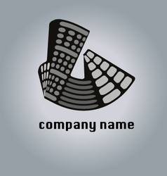 Real estate property logo icon buildings vector