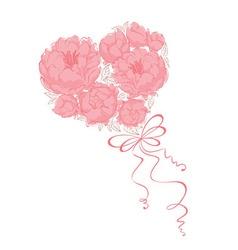 Bridal bouquet - vector