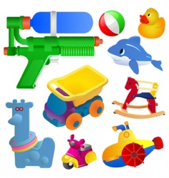 Toy set vector