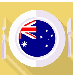 Kitchen of australia vector
