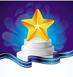 Award concept vector