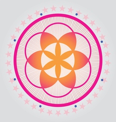 Sacred geometry 01 vector