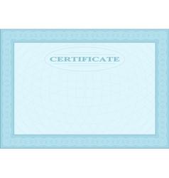 Blue blank document vector