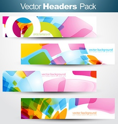 Header set pack vector