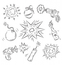 Boom graphics vector