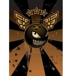 Bowling mascot vector