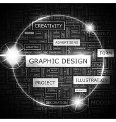 Graphic design vector