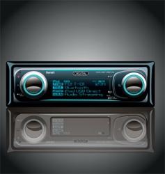 Car radio vector