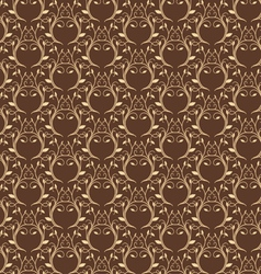 Luxury gold seamless pattern vector