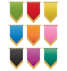 Wall hangings vector