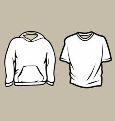 Apparel sketch template vector