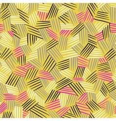 Seamless pattern with hand drawn lines traditional vector