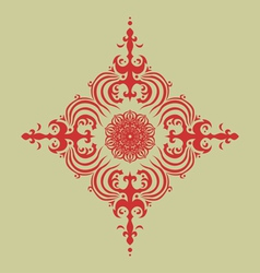 Oriental decor vector