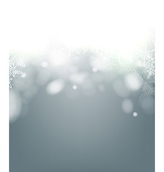 Christmas background with rotate bokeh vector