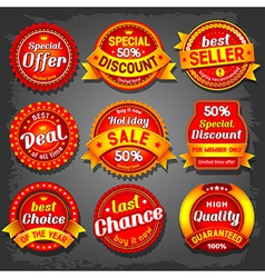 Offer label vector