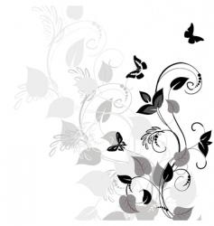 Vegetation pattern vector