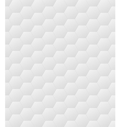 Hexagon pattern - grey seamless tileable texture vector