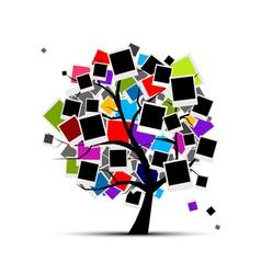 Memories tree vector