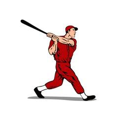 Baseball player batter vector