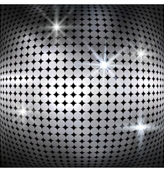 Silver shiny mosaic background vector