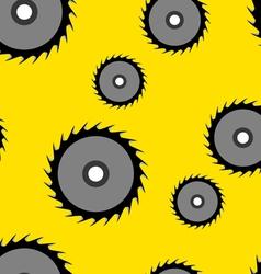 Circular saw blade seamless wallpaper vector
