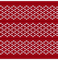 Knitted wool background vector