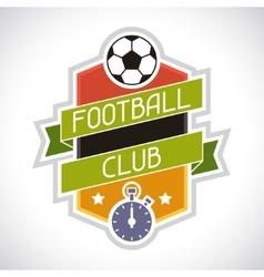 Sports soccer football badge vector