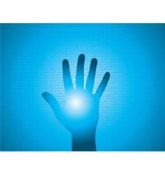 Binary hand vector