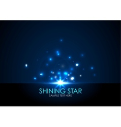 Shining star vector