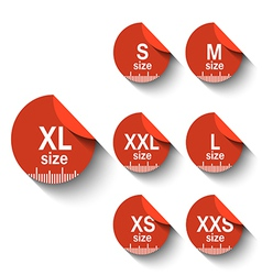 Size labels vector