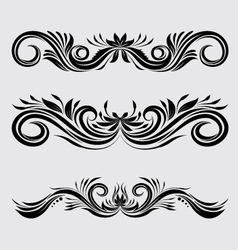 Decorative ornamental vector