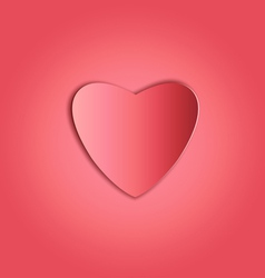 Heart paper copy vector