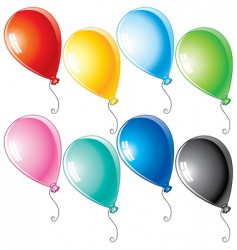 Cartoon balloons vector