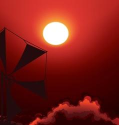 Sunset vector