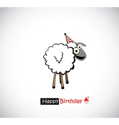 Happy birthday funny vector