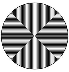 Circular optical wallpaper vector