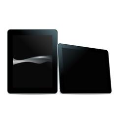 Tablet pc black vector