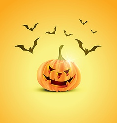 Halloween pumpkin design vector