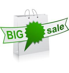 Big sale green symbol vector