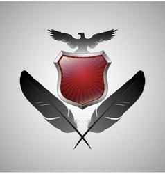 Vintage heraldry emblem vector