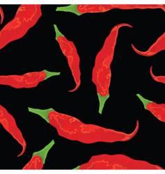 Hot chili pattern vector