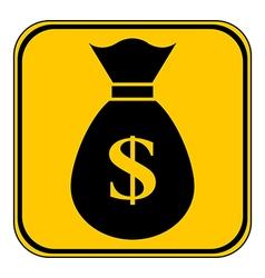 Money button vector