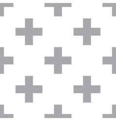 New cross seamless pattern vector