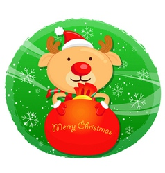 Rudolph mascot the event activity christmas chara vector