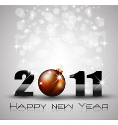 New year celebration background vector