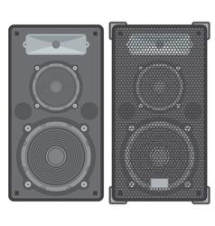 Concert speakers vector
