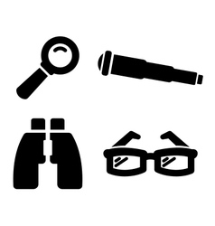 Search icons vector