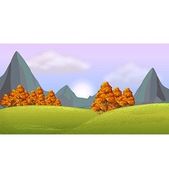 A view of the beautiful nature vector