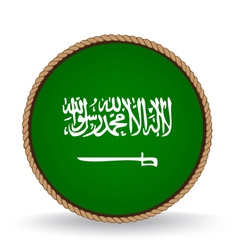 Saudi arabia seal vector